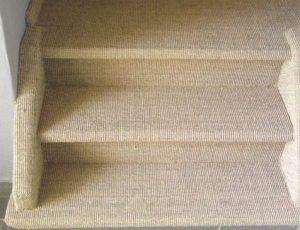 Trap bekleden met sisal tapijt in den haag